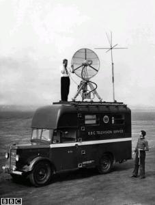 Television Transmitter Van 1954