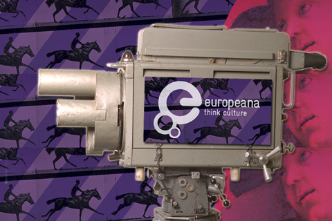 EMI CPS Emitron Camera Head on the Europeana logo