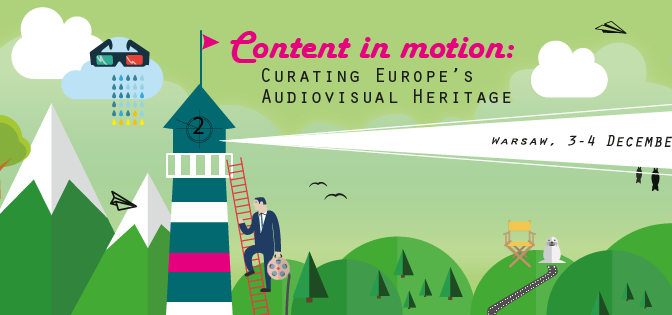Content in Motion: Curating Europe's Audiovisual Heritage